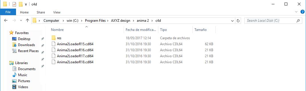 Using the Anima plugin for Cinema 4D « docs axyz-design com