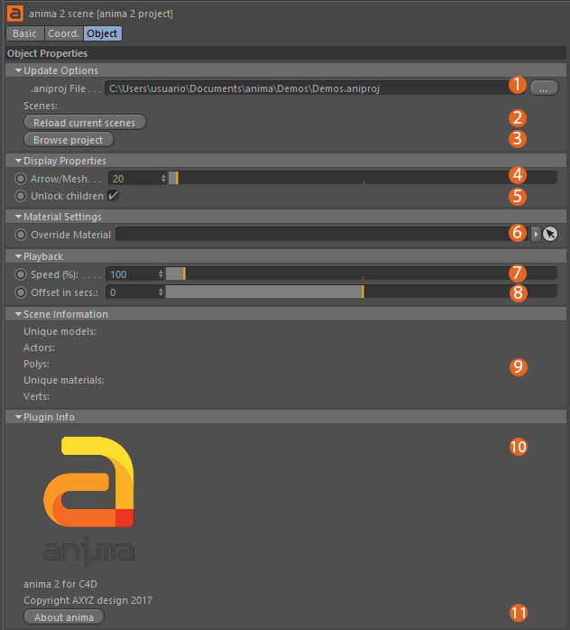 Using the Anima plugin for Cinema 4D « docs axyz-design com