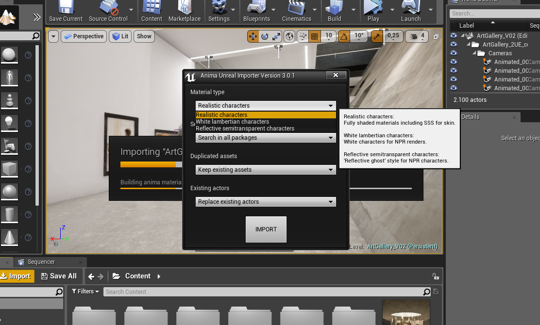 Using the Anima plugin for Unreal Engine « docs axyz-design com